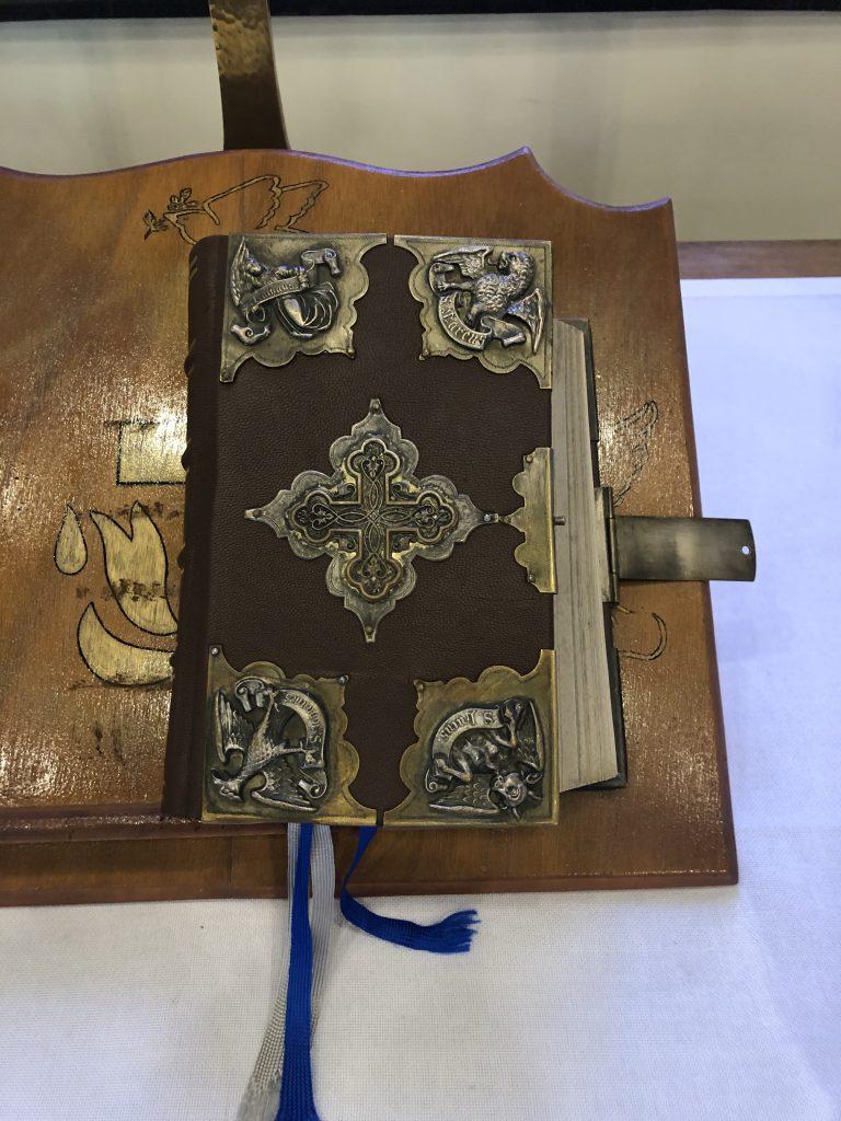 Historische Bibel von Auguste Viktoria