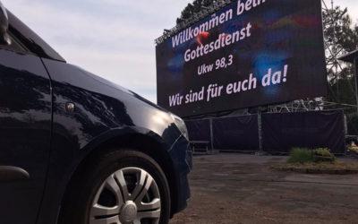 Hollywood in Erkelenz: Wir sind für euch da! – Gottesdienste im Autokino