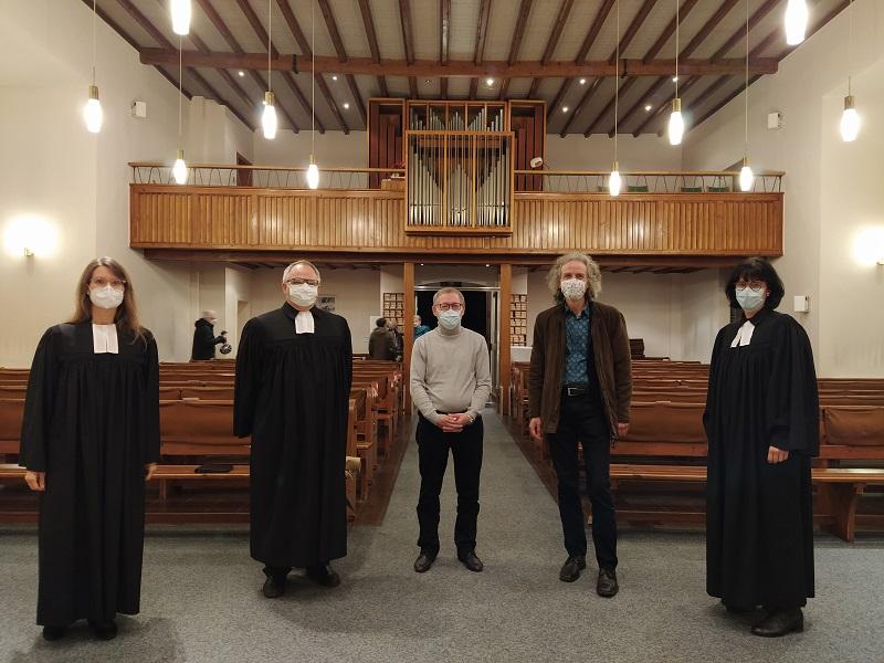 Unser Kirchenmusiker Wolfgang Feuerlein